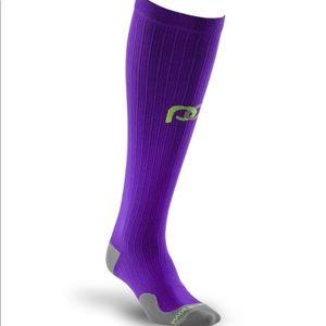 Pro Compression Purple Marathon Compression Socks
